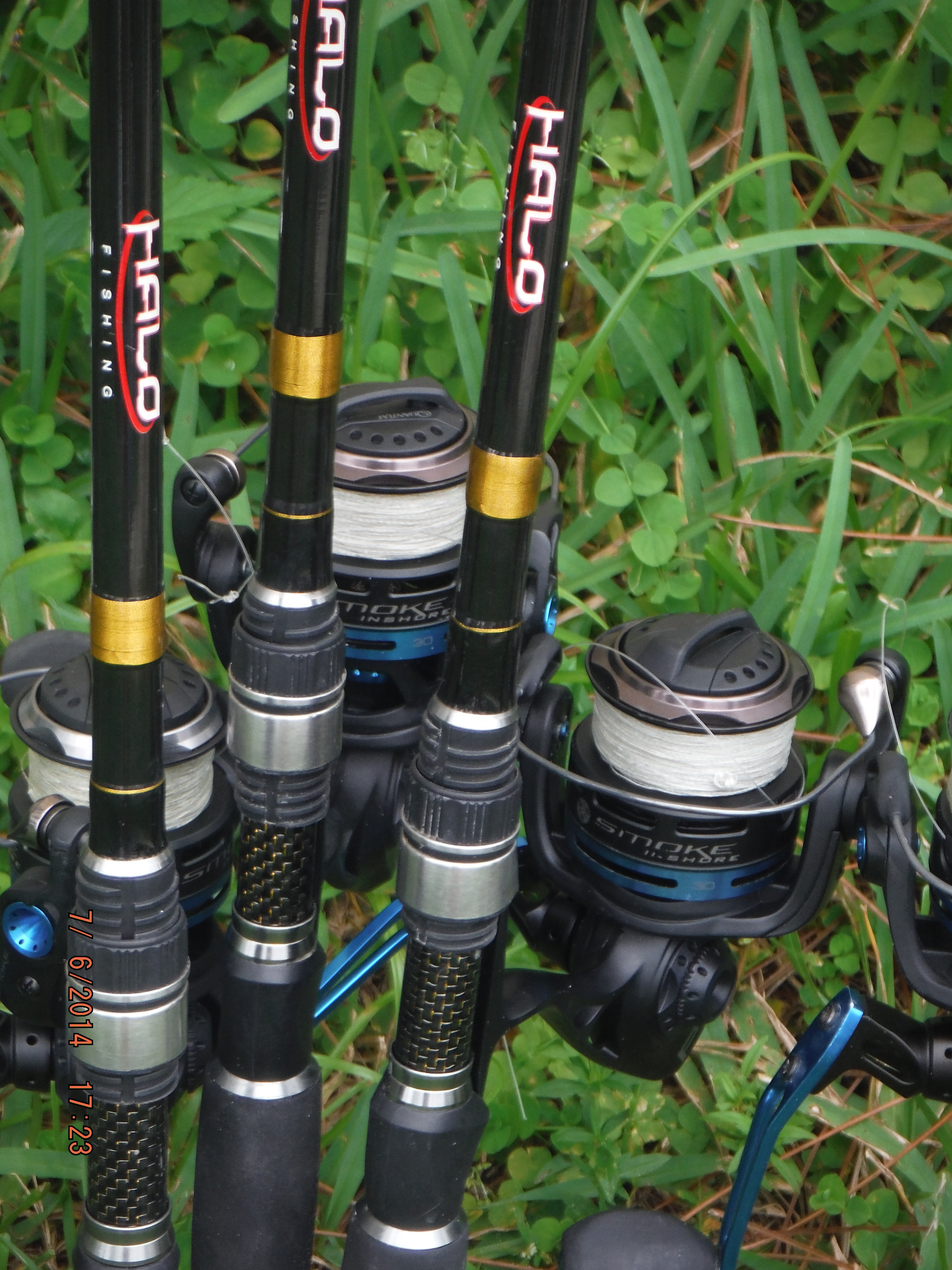Anchors and ammo captiva july 2014 for Halo fishing rods